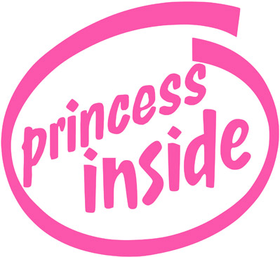 Pink Princess Inside Girly Graphics Princess Inside